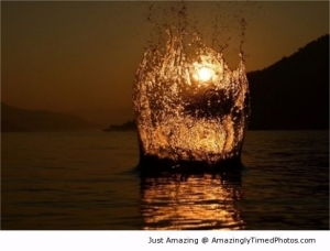 Amazing Rock-splashes-at-sunset-resizecrop--