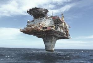 Draugen platform oil rig Image courtesy of http://iliketowastemytime.com